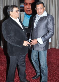 With Mithun Da