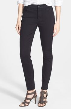Jen7 Stretch Skinny Jeans available at #Nordstrom