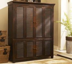 Google Image Result For  Http://indiedesign.typepad.com/2009images/2009designfiles/pottery Barn  Armoire | Home Decor | Pinterest | Spare Room, Armoires ...
