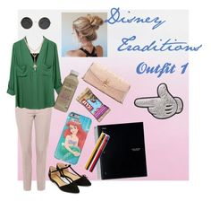 """""""Disney Traditions: Outfit 1"""" by kell-bell-21 on Polyvore featuring T By Alexander Wang, Topshop, Accessorize, Dolce&Gabbana and Anya Hindmarch"""