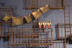 Image result for nyc fire escape Fire Escape, Laundry Signs, Late 20th Century, Abstract Styles, Wall Sculptures, Decorative Items, Flower Pots, Crates, New York City