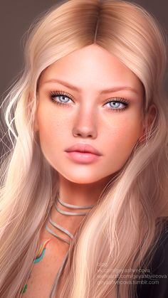 Image uploaded by 𝐆𝐄𝐘𝐀 𝐒𝐇𝐕𝐄𝐂𝐎𝐕𝐀 👣. Find images and videos about fashion, beautiful and style on We Heart It - the app to get lost in what you love. Digital Art Girl, Digital Portrait, Fantasy Women, Fantasy Girl, Female Portrait, Female Art, Long Hair Drawing, Picture Frame Art, Pop Art Illustration