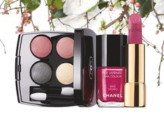 Chanel Collection Reverie Parisienne Collection for Spring 2015 Jardin de Chanel Blush Camelia...