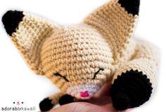 sleepy fennec fox amigurumi by ~adorablykawaii on deviantART