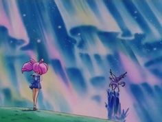 Chibiusa & Pegasus (Season 4 / SuperS )
