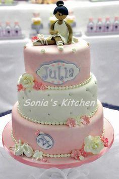 ballerina cake Ballet Cakes, Ballerina Cakes, Ballerina Birthday, Edible Art, Celebration Cakes, Celebrations, Party Ideas, Passion, Princess