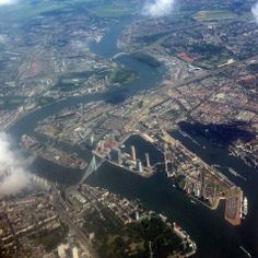 Rotterdam From Up Above