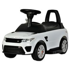 Best Ride On Cars' Range Rover Sport SVR Push Car is a sweet way to bring your little one around town in style. This car was designed with your child's comfort in mind, with a working horn and plush backrest for extended use. New Sports Cars, Sport Cars, Car Reg, Range Rover Svr, Harley Davidson Road Glide, Jaguar Xk, Ford Classic Cars, Ride On Toys, Buy Buy Baby