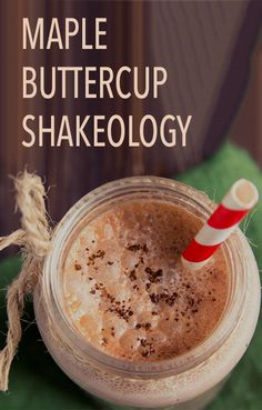 If you're craving something sweet in the morning, whip up one of these shakes instead of pancakes or waffles. It's made with maple syrup, so you still get that yummy breakfast flavor, and a touch of peanut butter makes it extra creamy. Click through to get the recipe! // Thirsty Thursday // Shakeology // recipes // beachbody // beachbody blog