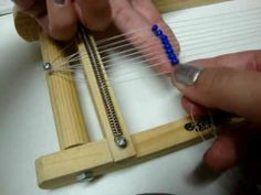 How to bead loom