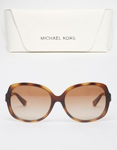 Image 2 of Michael Kors Signature Butterfly Sunglasses