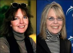 Aging... Diane Keaton... one of the most beautiful, natural women.