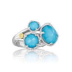 Style# SR13705 - Island Rains - Quartz & Neolite Turquoise - Rings - Jewelry - Tacori.com