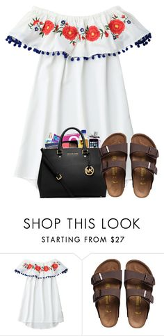 """shopping hall in d"" by arielforlife ❤ liked on Polyvore featuring Birkenstock"