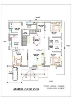61 Ideas Home Studio Bedroom Apartment Layout For 2019 20x30 House Plans, Free House Plans, Family House Plans, Bungalow Floor Plans, Duplex House Plans, Bungalow House Design, Small Modern House Plans, Beautiful House Plans, Apartment Layout
