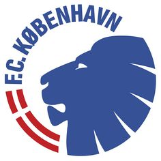 Football Club København (F.C. København / FCK)   Country: Danmark / Denmark. País: Dinamarca   Founded/Fundado: 1992/07/01   Badge/Crest/Logo/Escudo.