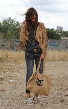 Great fashion blogger for the perfect boho style!