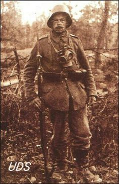 German Infantryman, Verdun 1916