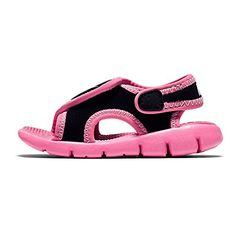 386521001 INFANTS AND TODDLER SUNRAY ADJUST 4 TD NIKE BLACKDIGITAL PINK -- Find out more about the great product at the image link.-It is an affiliate link to Amazon. #BabyShoes