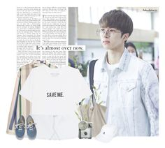 """""""Ken: its almost over now."""" by yxing ❤ liked on Polyvore featuring Vans, Polo Ralph Lauren, kpop, vixx and Ken"""
