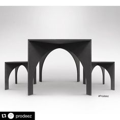 #Repost @prodeez  Arch Bundle by Graft Object. For more info and images visit www.prodeez.com #furniture #table #stool #vault #creative #design #ideas #designer #graftobject #interior #interiordesign #product #productdesign #instadesign #furnituredesign #prodeez #industrialdesign #architecture #style by graft_object