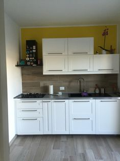 SEKTION Base cabinet with shelves, white, Grimslöv off-white ...