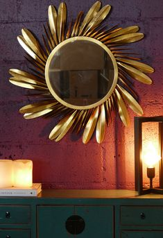 My Mirror, Stager, Settings, Home Decor, Gold Mirror, Light, Mirror