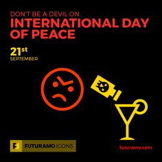 Don't be a devil on International Day of Peace! All icons used in the series are available in our App. Imagine what YOU could create with them! Check out our FUTURAMO ICONS – a perfect tool for designers & developers on futuramo.com #futuramo #futuramoapps #futuramoicons #futuramocalendar #icondesign #icons #iconsystem #freeicons #pixel #pixels #pixelperfect #flatdesign #ux #ui #uidesign #design #developer #developers #webdesign #app #appdesign