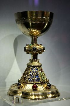 Chalice at Victoria and Albert Museum, London, England.