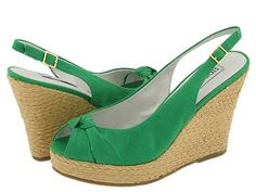 love green shoes of all kinds!
