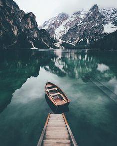Mountains and lake 💙