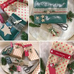 Weihnachtsgeschenke verpacken mit Leidenschaft
