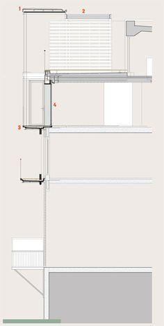 Barker Shorten Architects' sliding glass door for an east London penthouse | Technical | Building Design
