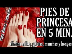 PIES DE PRINCESA en 5 Min. ELIMINA callos, grietas, hongos, blanquea e hidrata. - YouTube Jeny Rivera, Dulce Candy, Perfume Atomizer, Vicks Vaporub, Soft Feet, Healthy Eating Tips, Tips Belleza, Feet Care, Manicure And Pedicure