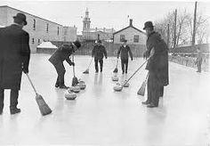 curling sport vintage - Google Search