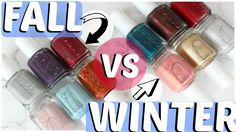 Check out Jenny Claire Fox's review and swatches of the essie fall 2016 collection vs winter 2016 collection.    Want more essie? Check out www.essie.com