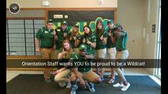 We love our orientation staff. Apply to NMU today and show your Wildcat Pride!