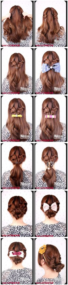 Easy hairstyles (I)