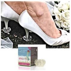 If you're planning on taking your wedding photo's outside, then Starlettos High Heel Protectors are essential to protect your shoes get dirty. http://www.secretfashionfixes.ie/starlettos--high-heel-protectors-/strlettopd.html