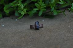Rustic and Bohemian Electroformed Raw Brazilian Tourmaline Crystal Oxidized Copper Ring SIZE 5 by KyaraCreations on Etsy Copper Rings, Bohemian, Stud Earrings, Rustic, Crystals, Trending Outfits, Unique Jewelry, Etsy, Country Primitive