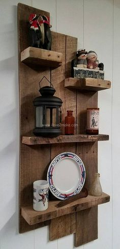 pallet shelf design