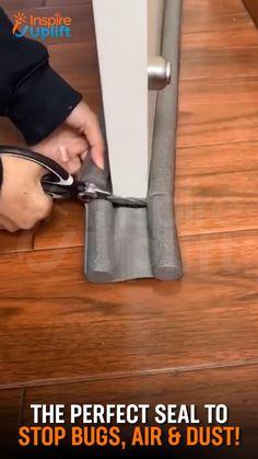 Door Draught Stopper, Draft Stopper, Door Stopper, Door Draft, Home Fix, Cool Gadgets To Buy, Diy Home Repair, Home Gadgets, Cool Inventions