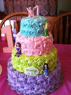 Disney Frozen princess cake and cupcakes with Ariel Elsa Rapunzel