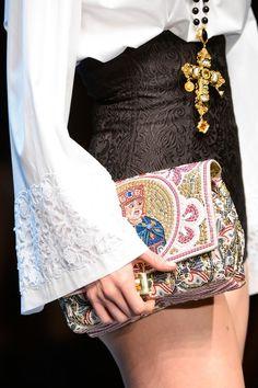 Dolce & Gabbana Fall 2013.