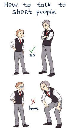 Haikyuu!! How to talk to short people by Suncelia.deviantart.com on @DeviantArt