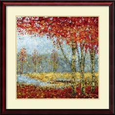 'Into the Light I' by Carmen Dolce Framed Art Print