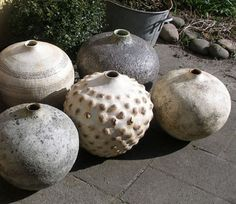 Rustic ... Organic ... Ceramics ... by Eva Brandt