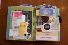 Disney Smash Book by Kathleen Taylor featuring Project Mouse by Britt-ish Designs and Sahlin Studio - Parks