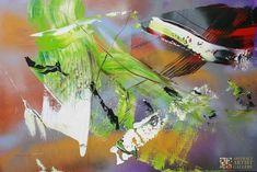 Abstract Artist: Jan van Oort Medium: Acrylic, Mixed Media Website: www.kunstoort.nl I like to connect...