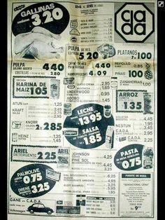 Ofertas en Supermercado CADA en Venezuela (ahora son Bicentenario, la porquería oficial más grande - 2015)